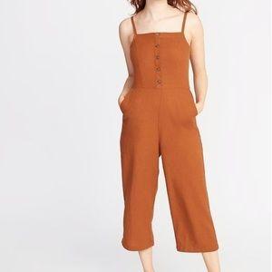 Linen Cami Jumpsuit